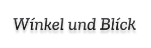 Winkel und Blick – Fotografie Stephan Roßner
